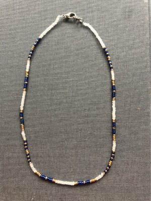 Handgemacht Collar de perlas multicolor