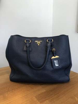 Prada Handtas donkerblauw