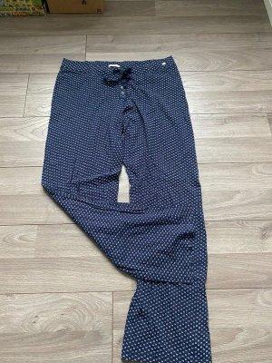 Dunkelblaue Pyjama / Schlafanzug Hose von Esprit, Gr. 42