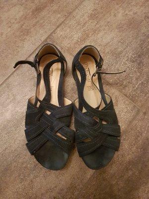 dunkelblaue sandalen