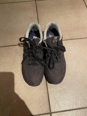 Dunkelblaue Schuhe von New Balance in Jeansoptik