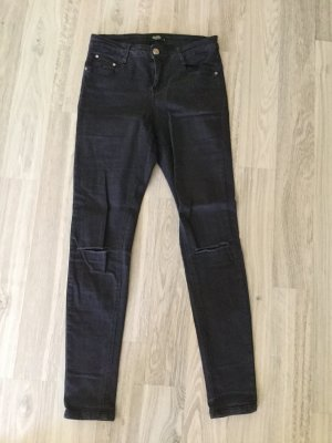 Colloseum Jeans skinny blu scuro-nero