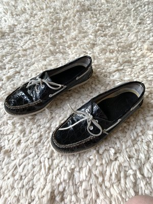 Sperry top-sider Sailing Shoes dark blue-white leather