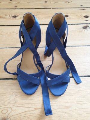 dunkelblaue Sezane Heels, Größe 37