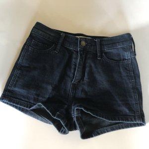 Dunkelblaue Shorts von Hollister