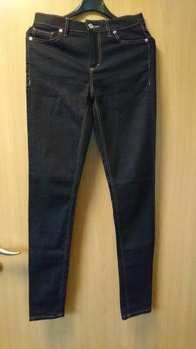 dunkelblaue Skinny Lacoste Jeans Gr. XS (Neupreis: € 120,--)