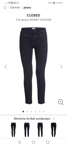 Closed Skinny jeans donkerblauw