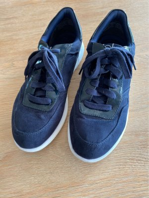 Tamaris Lace-Up Sneaker dark blue-white