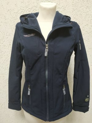 Colors of the world Giacca softshell blu scuro