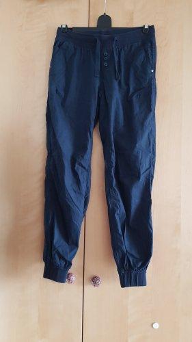 Takko Fashion Pantalone peg-top blu scuro