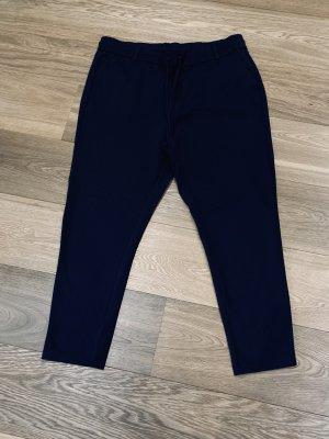 Only Pantalon en jersey bleu-bleu foncé
