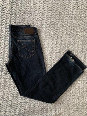Dunkelblaue Streight Jeans von s.Oliver