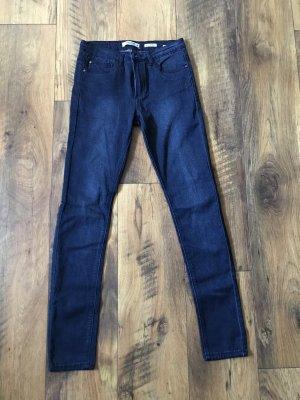 Dunkelblaue Stretch Jeans