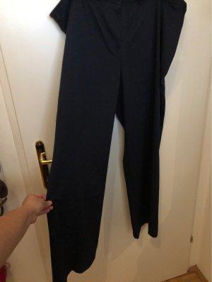 bpc Pantalon en jersey bleu foncé