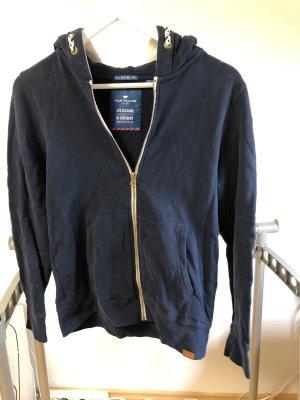 Tom Tailor Sweat Jacket dark blue