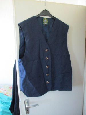 Hammerschmid Traditional Vest dark blue