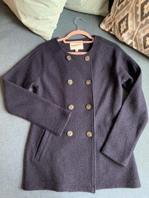 Clements Ribeiro Wool Jacket dark blue-blue