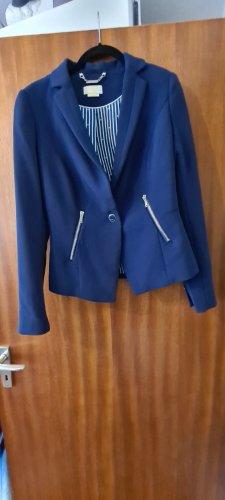 Alcott Klassischer Blazer blauw-paars Gemengd weefsel