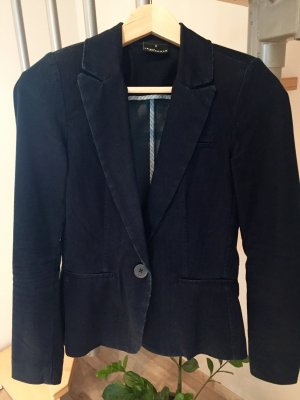 Blazer in jeans blu scuro