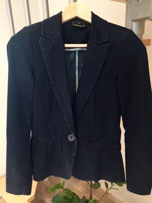 Blazer in jeans blu scuro