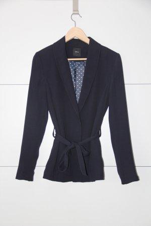 Zero Jersey blazer donkerblauw Polyester