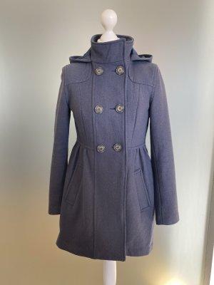 H&M Basic Cappotto con cappuccio multicolore