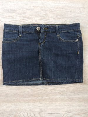 Dunkelblauer Jeans Minirock