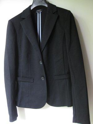 More & More Blazer in jersey blu scuro Poliestere