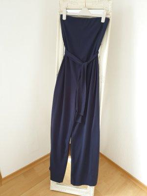 Dunkelblauer Jumpsuit (Zara)