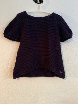 edc by Esprit Short Sleeve Sweater dark blue