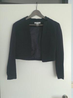 H&M Short Blazer dark blue