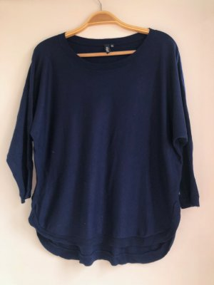 Dunkelblauer Loose Fit Pullover