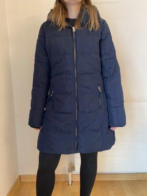 17&co Manteau d'hiver bleu foncé-noir