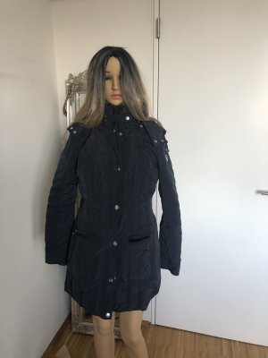 Armani Jeans Hooded Coat dark blue