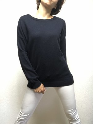 Alpha Studio Knitted Sweater dark blue