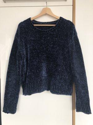 Bik Bok Oversized trui donkerblauw-blauw