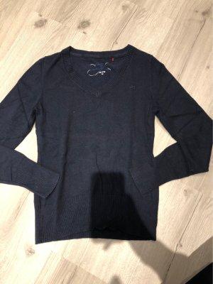 Dunkelblauer Pullover von QS
