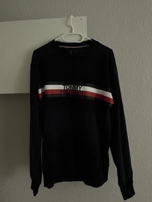 Tommy Hilfiger Sweter oversize ciemnoniebieski