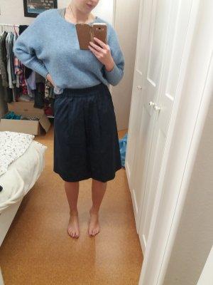Marc O'Polo Plaid Skirt blue-steel blue