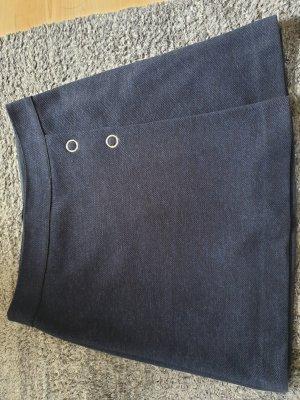 Zero Wraparound Skirt dark blue