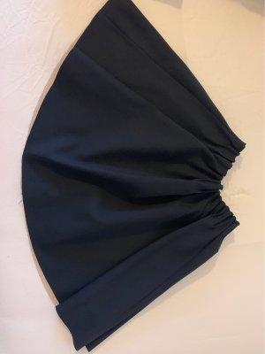 Dunkelblauer Taillenrock