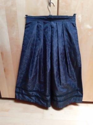 dunkelblauer Trachtenrock von Gottseidank