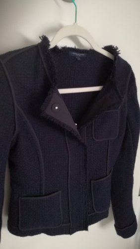 Tommy Hilfiger Blazer Tweed azul oscuro Lana