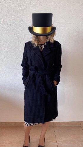 Stefanel Wool Coat dark blue