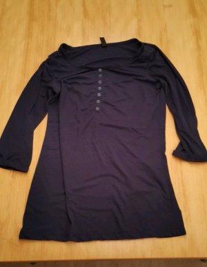 Dunkelblaues 3/4 Shirt