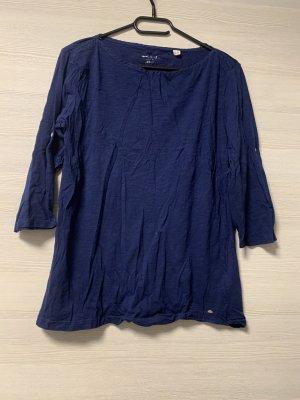 Dunkelblaues 3/4 Sweatshirt