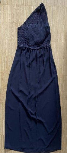 Esprit Sukienka na jedno ramię ciemnoniebieski