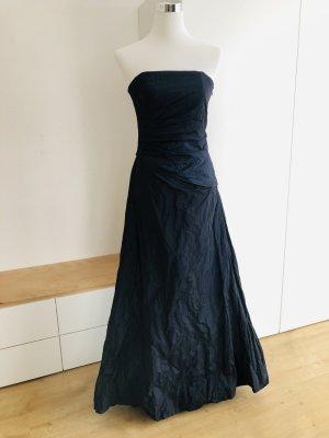 Dunkelblaues Abendkleid/Ballkleid Gr. 36