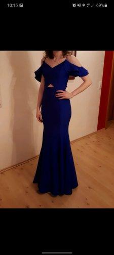 altanight Izmir Robe de soirée bleu-bleu acier