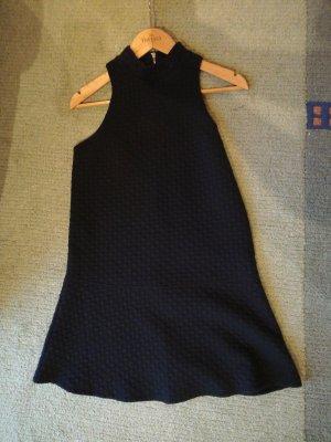 Abercrombie & Fitch Mini-jurk donkerblauw Gemengd weefsel